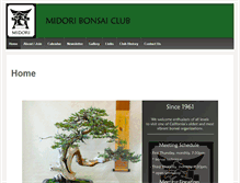 Tablet Preview of midoribonsai.org